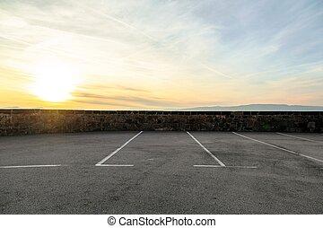 停車處, 空, 區域