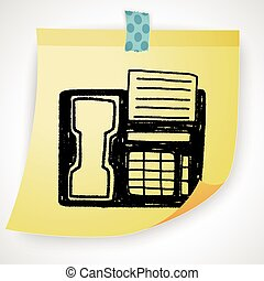 Doodle Fax machine