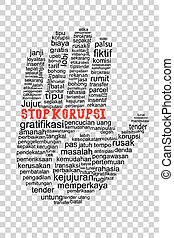 Hand with Stop Corruption