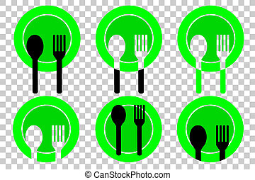 Spoon and Fork for your restaurant identity