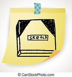 sketchbook doodle