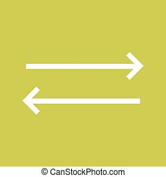 Sync , Refresh - Sync, arrows, update icon vector image Can...