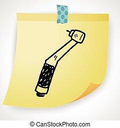 Dentist drill Vector Clip Art EPS Images. 612 Dentist ...