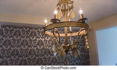 Old Hanging Chandelier - Hanging Chandelier in the old stile...