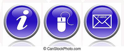 Buttons-Internet-Message