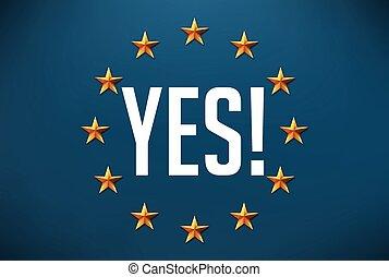 Say yes to european solidarity