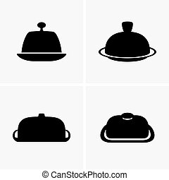 Butter dishes - Set of butter dishes (shade pictures)