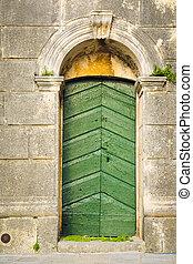 Perast - The old buildings in Perast, Montenegro