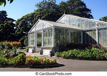 Royal Botanic Gardens, Kew, London - Kew Landscape or Kew...