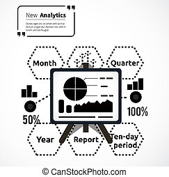 Stand with Charts and Parameters - Stand with charts and...