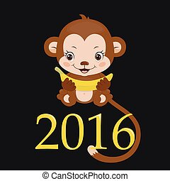 Year Of The Monkey - Happy new year 2016. Year Of The...