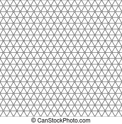 Triangle pattern - Seamless pattern of the triangle elements...
