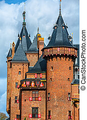Castle De Haar in Utrecht, Netherlands - Castle De Haar is...