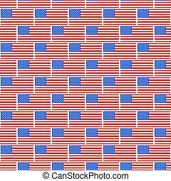 USA flag pattern - Seamless pattern of the United States...