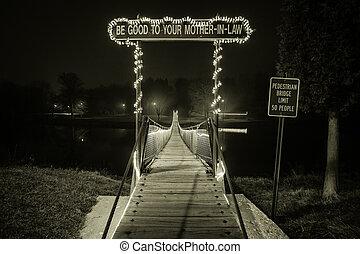 ponte, lei, mãe
