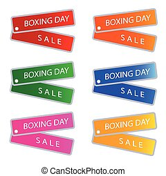 Boxing Day Sale on Muti Colors Labels - Glossy Sticker in...