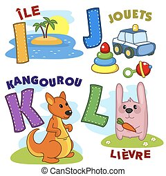 French alphabet part 3