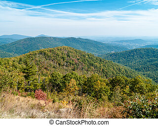 Shenandoah Scenic - A scenic view of Shenandoah National...