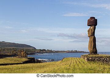 Ahu Tahai on Easter Island