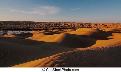 Typical landscape of the Sahara - Sahara desert landscape....