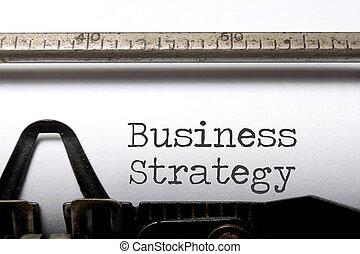 affär, strategi