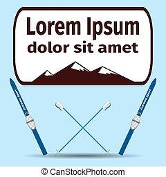 mountain; climbing; icon; climber; rope; set; rock; vector;...