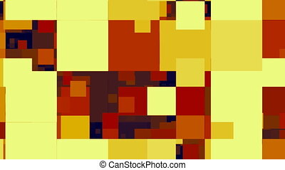 60s Abstract Squares Scrolling - 60s abstract squares...