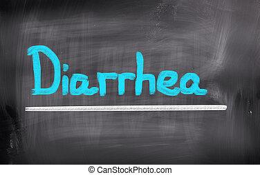 Diarrea, concepto,