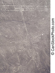 Nasca lines - Lines and Geoglyphs of Nazca, Peru