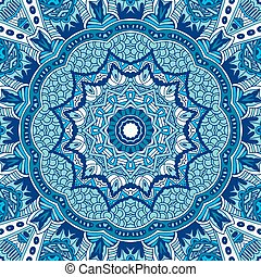 Seamless ornametal pattern. - Seamless ornametal pattern of...