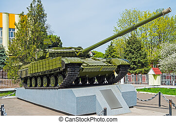 T-64bv tank - Soviet tank t-64bv, which is in service with...