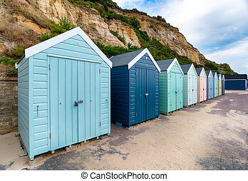 Beach Huts at Bournemouth