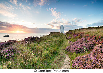 The Pepper Pot Lighthouse at Portreath - The pepperpot...