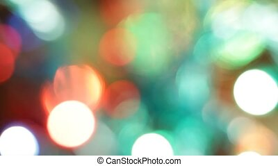 Christmas lights random blinks
