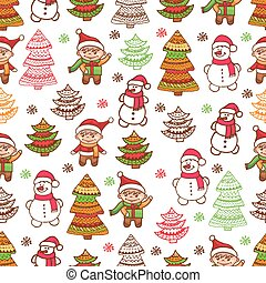 christmas pattern 1 - Christmas vector seamless pattern....
