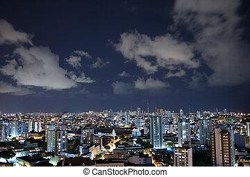 Salvador City at Night