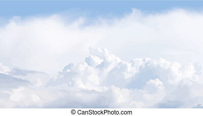 Vector cloudscape