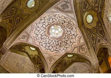 Shiraz Citadel big room ceiling - Big room ceiling inside...