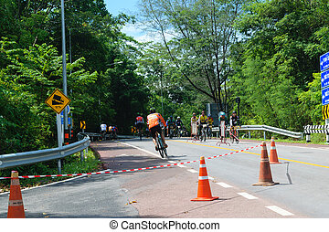 Cycling competition in quot;Two Wheels In Lovequot; -...