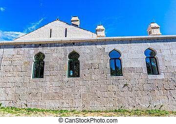 Medieval building Maskovica Han in Croatia - Maskovica han...