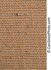 Burlap texture - Closeup detail of burlap texture background...