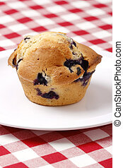Blueberry muffin - Delicious and freshly made blueberry...