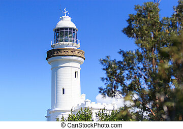 Lighthouse at Byron Bay , NSW, Australia