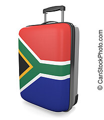 South Africa travel suitcase - South Africa vacation...
