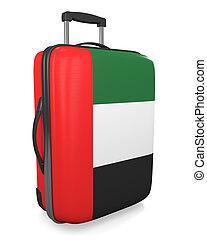 United Arab Emirates suitcase - United Arab Emirates...