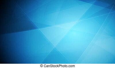 Bright blue tech shapes video animation - Bright blue tech...