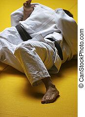judo, lutadores