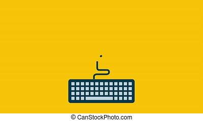 animazione,  video, disegno, graduazione, icona