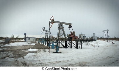 Pumpjack, Old Pumping Unit, Jack Pump, Donkey, Fossil Fuel...