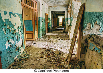 Abandoned Old House Interior Forsaken building - Abandoned...